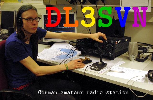DL3SVN qsl card